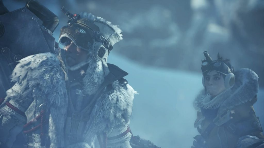 渡りの凍て地のハンター