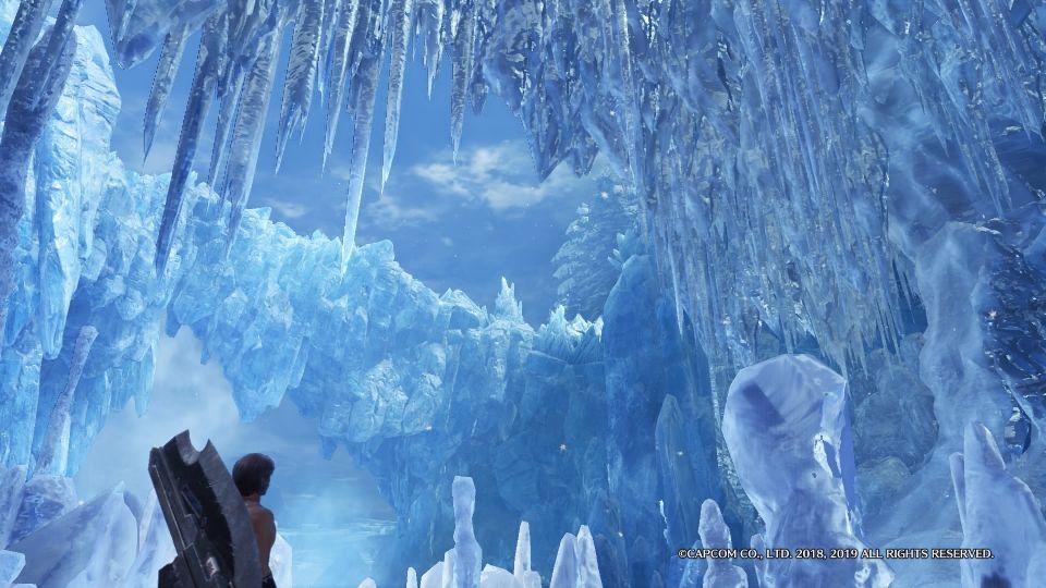 MHWIB氷の洞窟風景